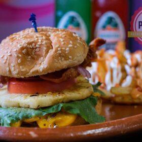 hawaiian style hamburger